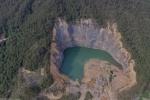 一个废弃的采石场