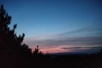 【石牛山森林公园】蓝天白云与落日熔金,与灯火阑珊处
