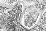 50年前美国间谍卫星拍摄到的罗定!