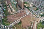 连接中华文苑和兴华三路的新路整好了哦,双向四车道