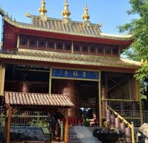 罗镜灵山寺