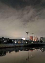 泷江碧道夜景