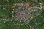 萬米高空下的羅定【8月衛星圖】