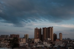 附城的天空
