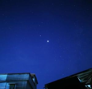 罗定凌晨三点的星空
